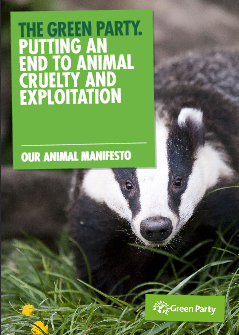 Front page of our Animal Rights Manifesto
